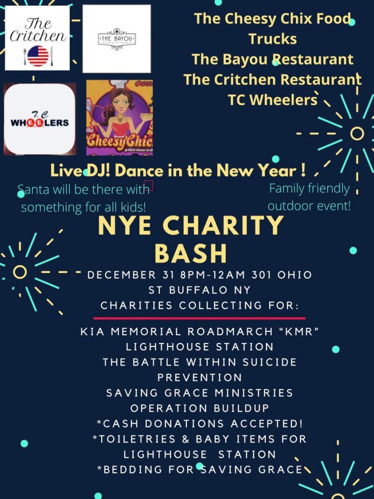 NEW YEARS EVE CHARITY BASH!