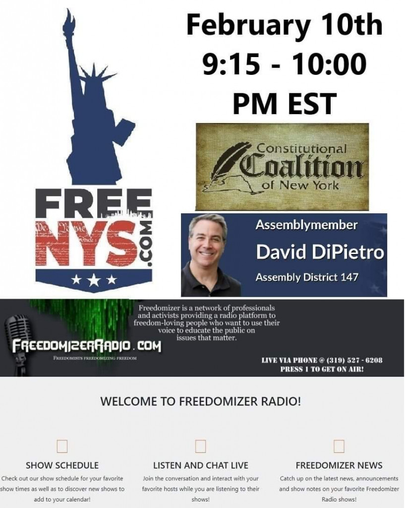 FREE NYS on Proof Negative Radio Show LIVE on 2/10/21